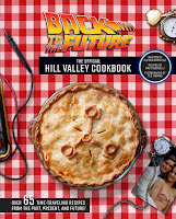 Cookbook cover - red check tablecloth with pie on