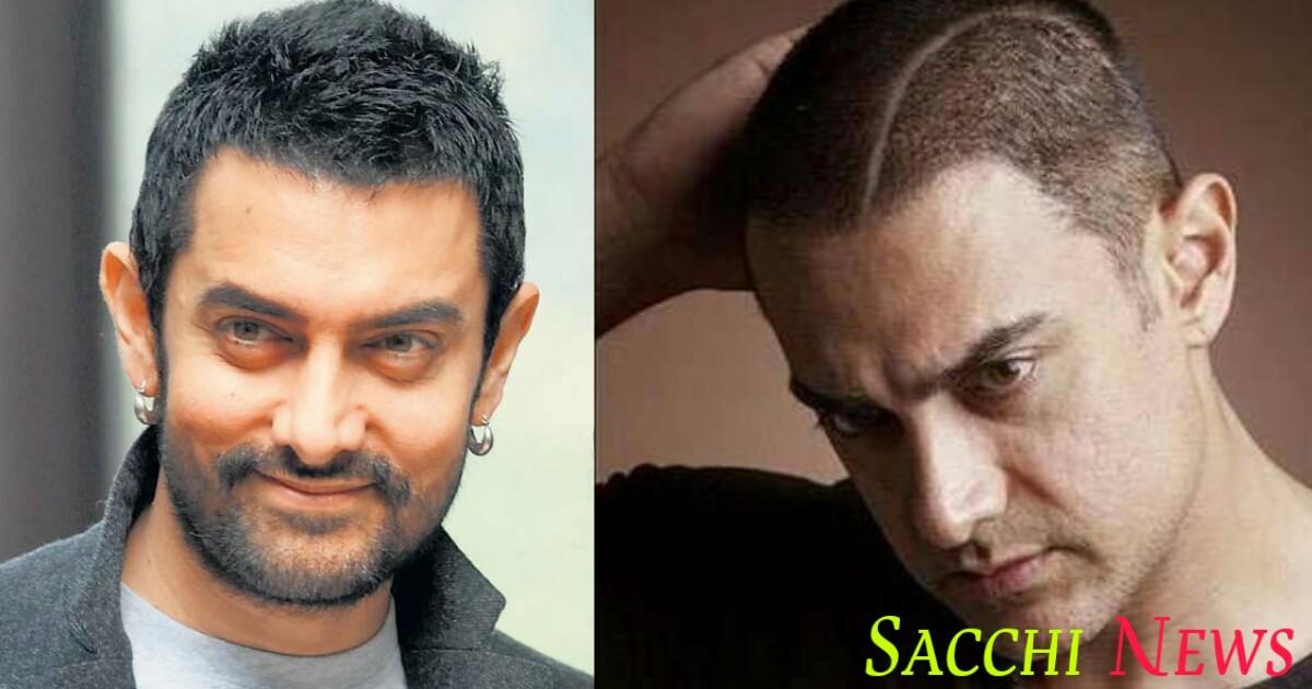 Bollywood actor amir khan hairstyle
