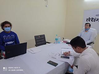कलेक्टर श्री नीरज कुमार सिंह ने दिए निर्देश