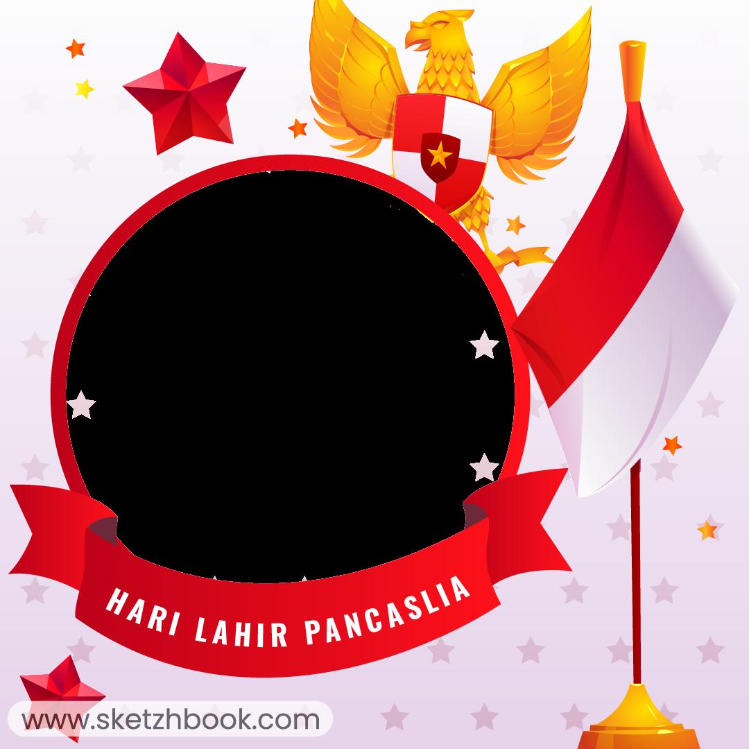 Twibbon Selamat Hari Lahir Pancasila 01 Juni 2021