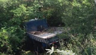 Caminhoneiro morre em acidente próximo ao Pau-Ferro, em Ipirá