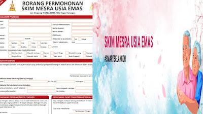 Permohonan Skim Mesra Usia Emas (SMUE) 2020 Online (Borang)