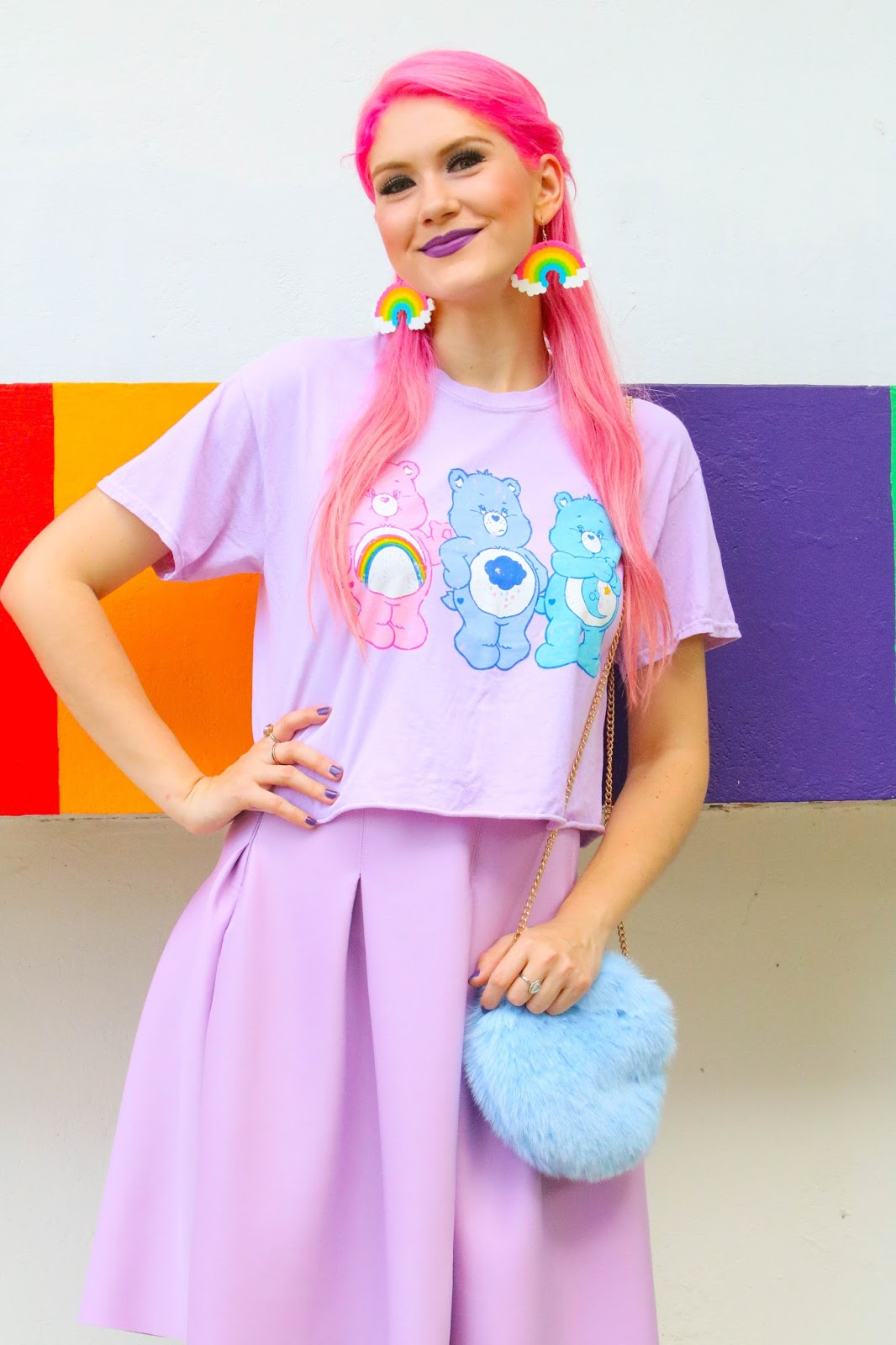 Super cute Care Bears inspired outfit