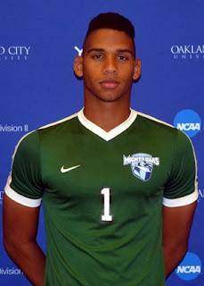 Yan Rosado portero dominicano en la Universidad Oakland City