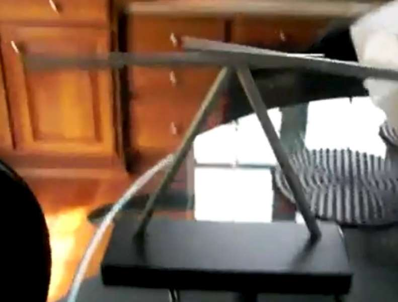 Iron Man 2 Swinging Sticks Kinetic Desk Toy Sculpture