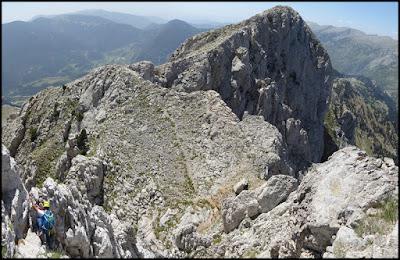 Pedraforca, Pollegó superior