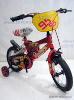2 Sepeda Anak Everbest 12-3350 Cars 12 Inci 2