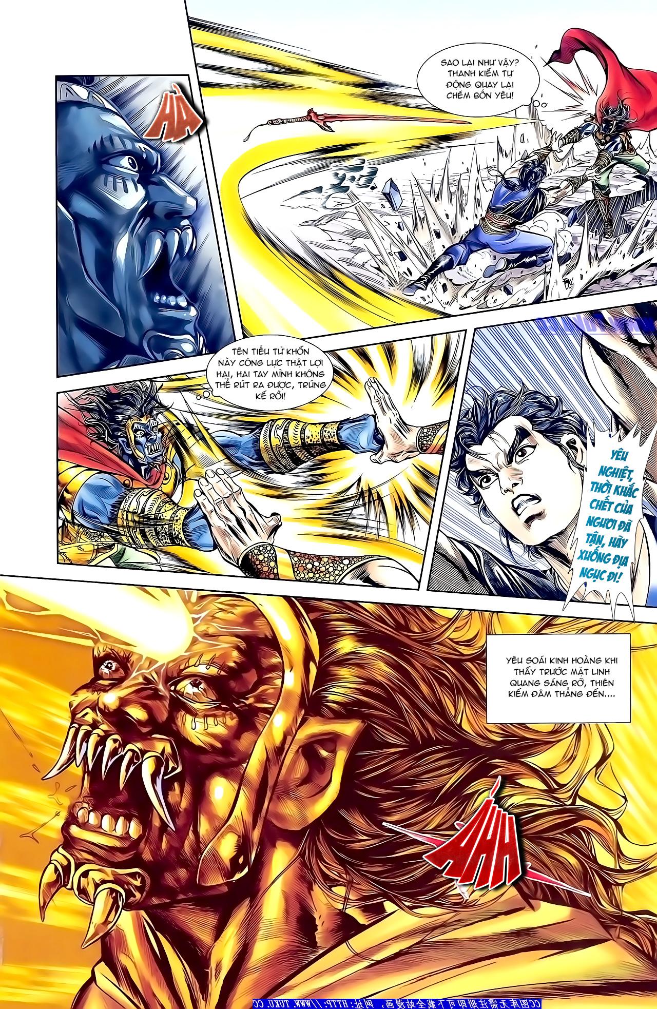Cơ Phát Khai Chu Bản chapter 156 trang 21