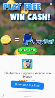 idle animals terbukti membayar