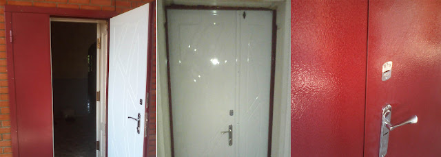 Двери входные в Никополе на Лапинке
