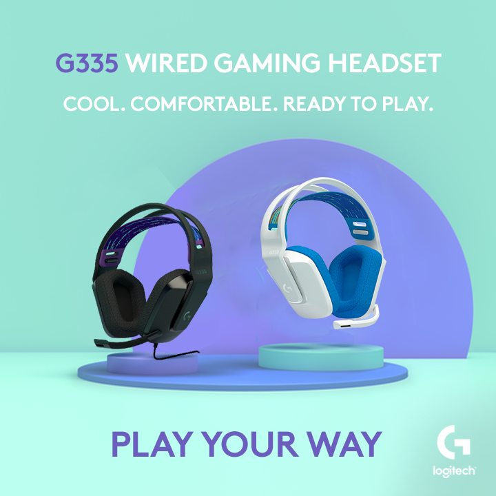 Logitech G335 Wired Gaming Headset is coming to PH this July