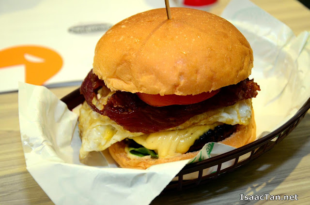 My Happy Cow Smashies Burger - RM16.99