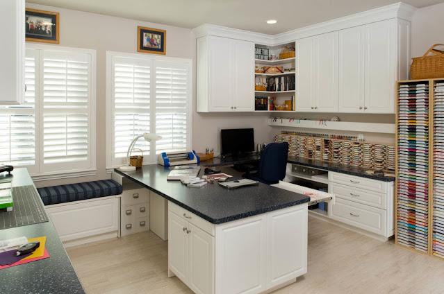 best home office craft room design ideas