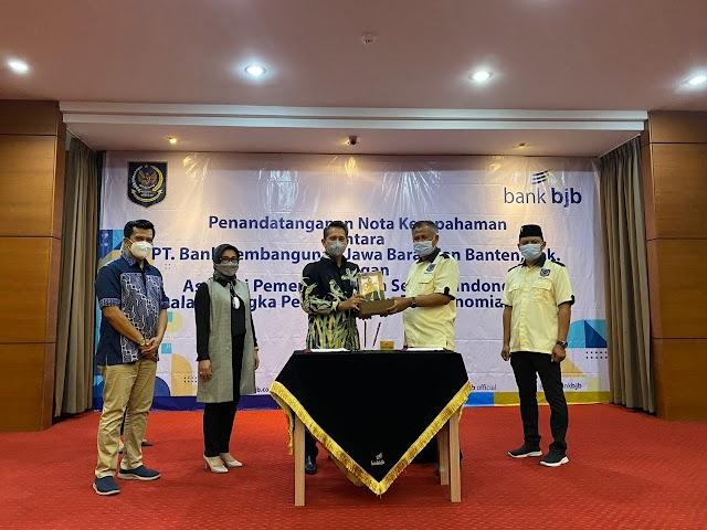Untuk  Kesejahteraan Masyarakat Desa, bank bjb Jalin Kerja Sama Dengan APDESI Jabar