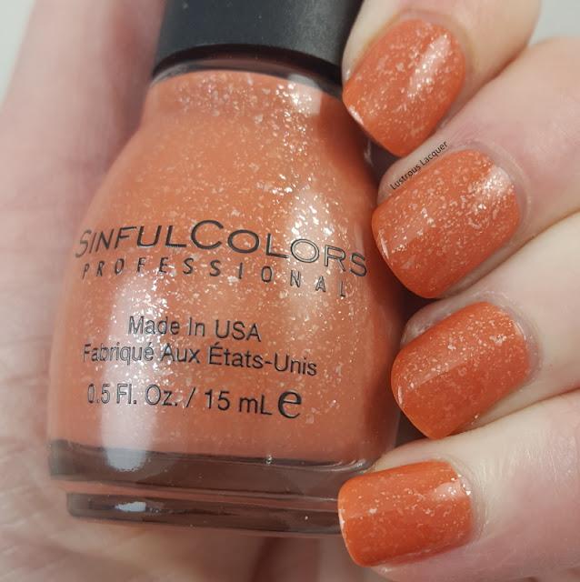 Desert-divas-collection-spring-2017-dark-orange-nail-polish-with flakies