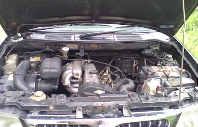 Foto Mesin Mitsubishi Kuda Diesel 2.5 liter