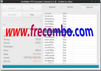 ZenMate VPN Accounts Checker [v1.0] – Coded by Mico