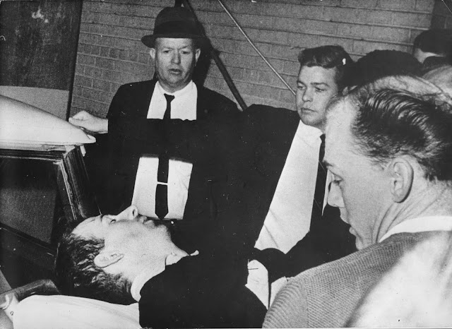 foto muerte de Lee Harvey Oswald  1963