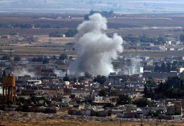 Δύο Τούρκοι στρατιώτες νεκροί από όλμους στην Μανμπίτζ