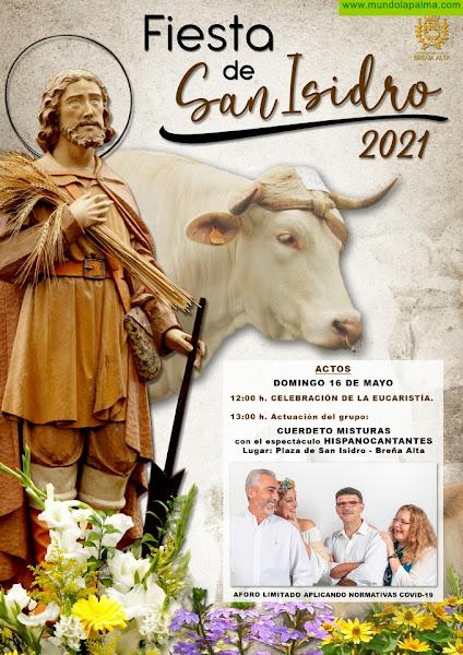 Breña Alta celebra con prudencia sus Fiestas en Honor a San Isidro, patrón de los  agricultores y ganaderos