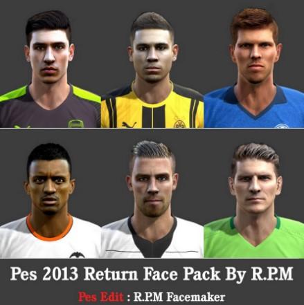 Return Facepack PES 2013 by R.P.M