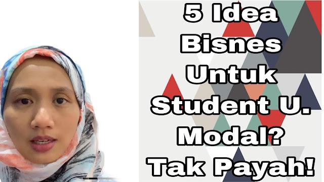 bisnes untuk student