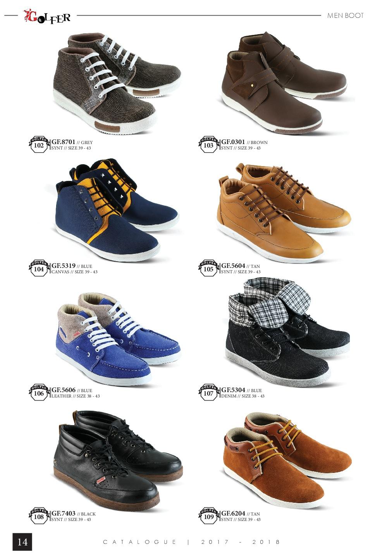 Sepatu Dan Sandal Golfer Katalog Terbaru 2018 Celana Jeans Wanita Inficlo Inf249