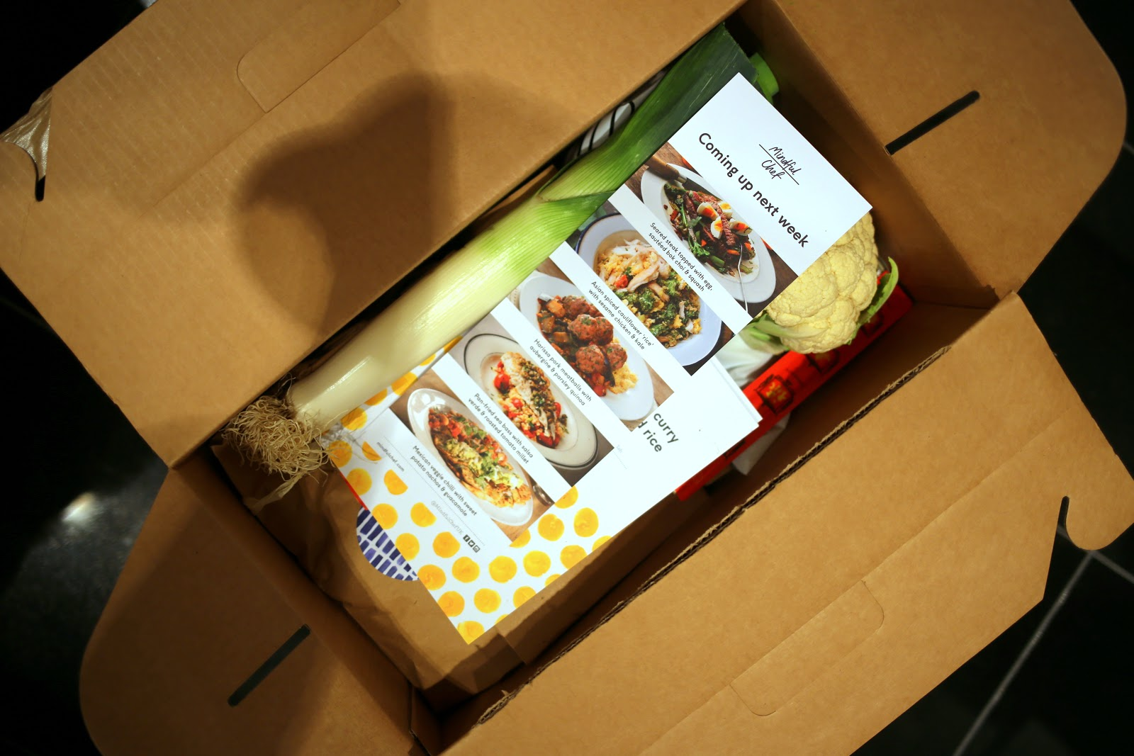 Healthy food delivered to your door with mindful chef heroine in heels its a pretty simple concept each week there are 4 new recipes which are both nutritious and innovative you can choose if you want 2 3 or 4 days worth forumfinder Choice Image