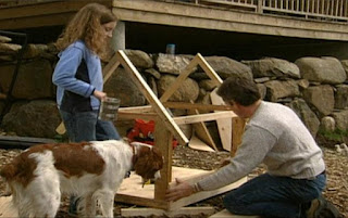 Elmo's friend Kate and her daddy build a dog house. Sesame Street Elmo's World Building Things Film
