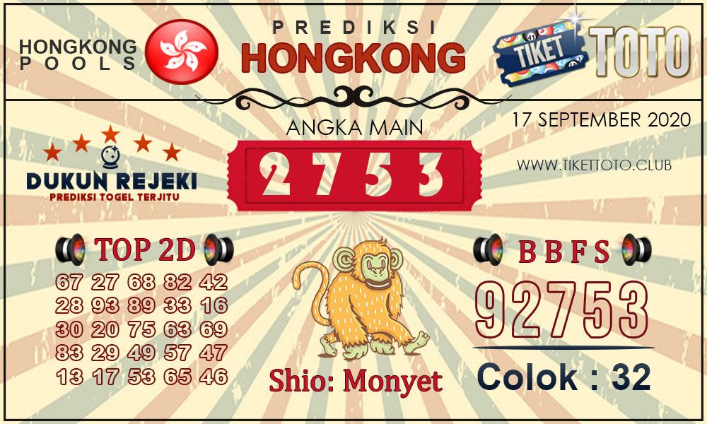 Prediksi Togel HONGKONG TIKETTOTO 17 SEPTEMBER 2020