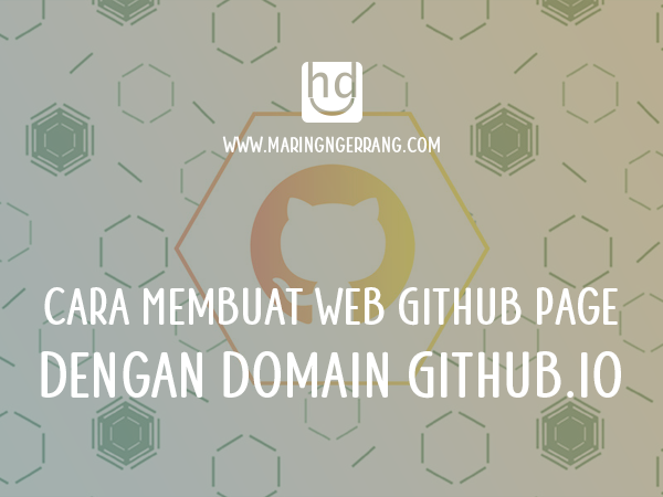 Cara Membuat Web Github Page (Github.io)