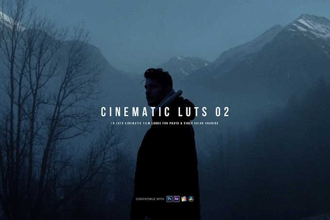 CINEMATIC LUTs 02 | LOG LUTs[Sellfy][K1 Production]