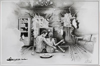"""Fragment powieści """"Po złej stronie lustra"""""""