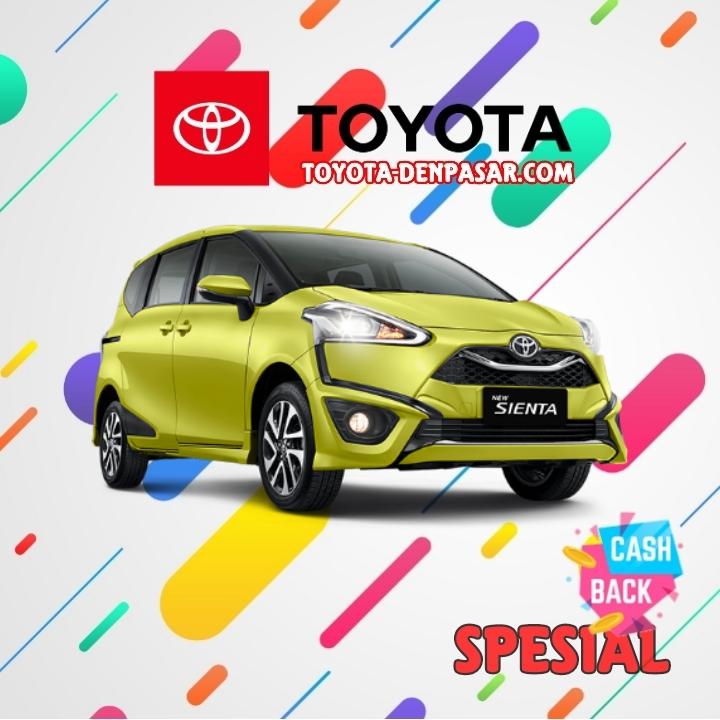 Toyota Denpasar - Lihat Spesifikasi New Sienta, Harga Toyota Sienta Bali dan Promo Toyota Sienta Bali terbaik hari ini.