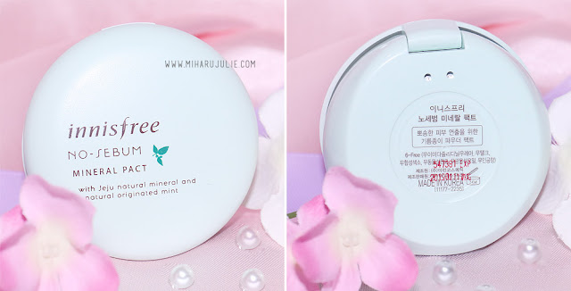 Innisfree No Sebum Mineral Pact review