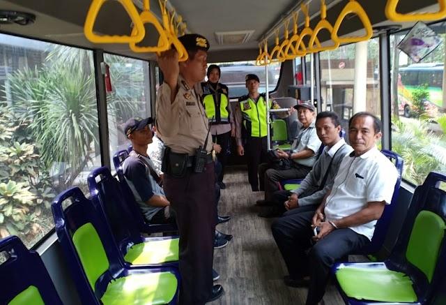 Paguyuban Pengemudi Sepakat BRT 02 Beroperasi