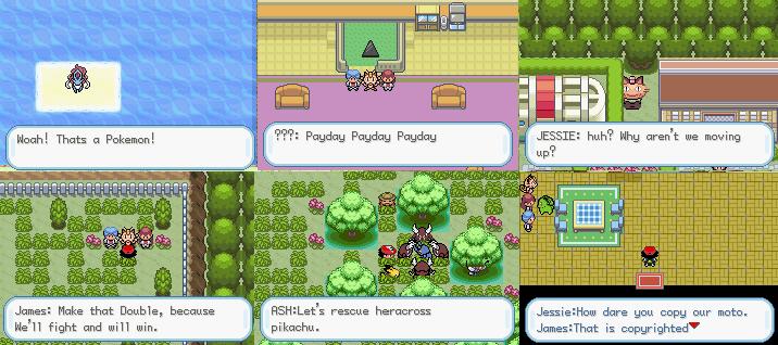 Pokemon Johto League Showdown GBA ROM Download