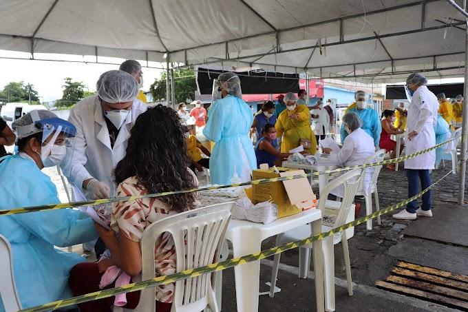 Pesquisadores da UFS na cidade de Itabaianinha, com o projeto de mapeamento epidemiológico do COVID-19