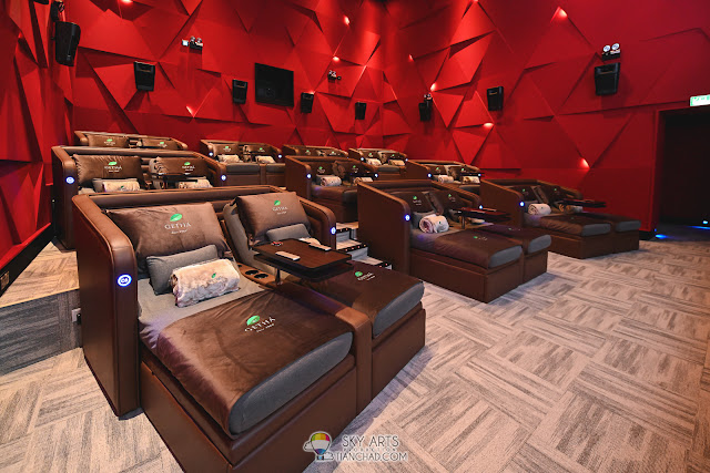 Aurum Theatre luxury cinema experience in Malaysia Mid Valley SouthKey JB