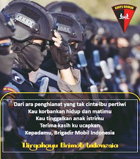 poster ucapan selamat hut brimob