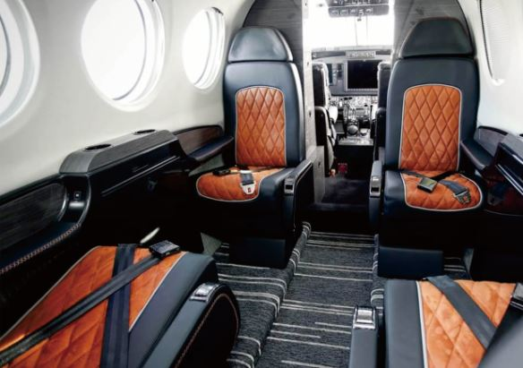 Nextant G90XT interior