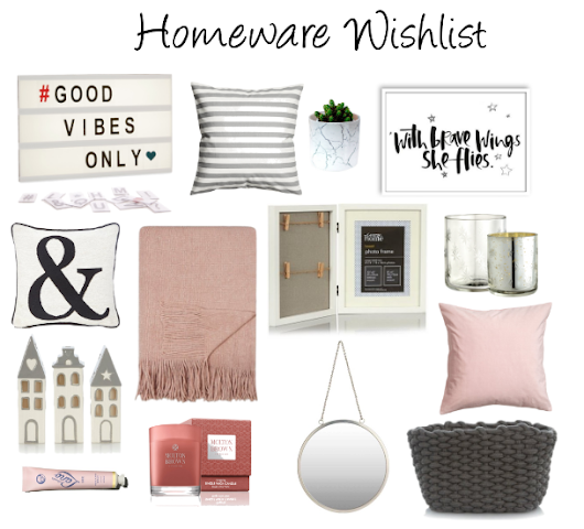 Homeware Wishlist 2017