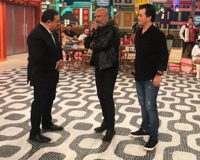 Rick e Renner conversam com Ratinho - Divulgação/SBT