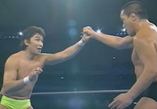 SWS/WWF SuperWrestle 1991 - Koji Ishinriki vs. Yoshiaki Fujiwara