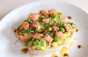 Avocado and Salmon Toast