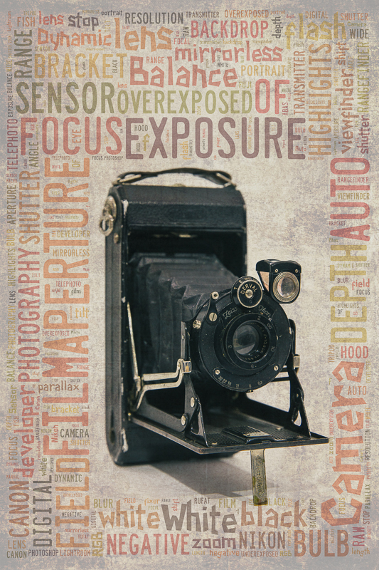 Vintage Camera Poster | Rufat Abas Photography