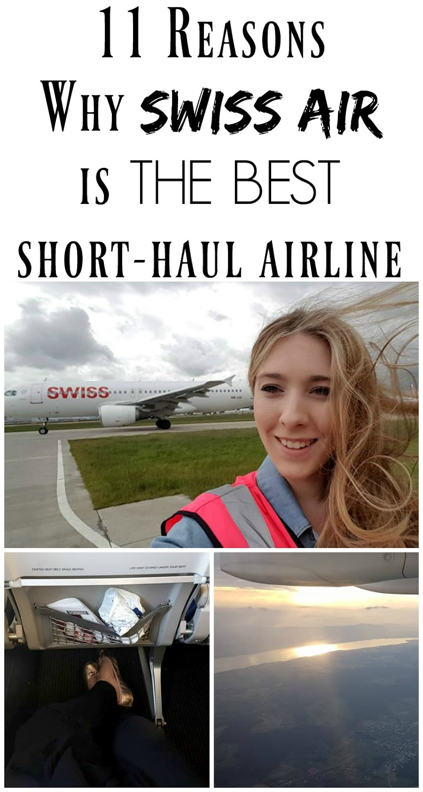 Pin For Later: If you're travelling in Europe, find out why I LOVE Swiss Air and think they're the best short-haul airline EVER!