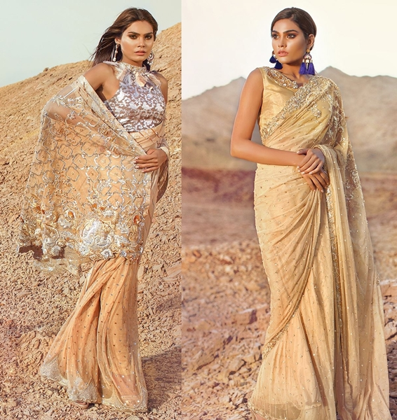 Tena Durrani Saree Designs