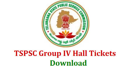 Telangana State Public Service Commission Group IV jobs Recruitment Notification Hall Tickets Download TSPSC Hall Tickets for Group IV Recruitment Exam Download tspsc-group-iv-hall-tickets-preliminary-answer-key-download