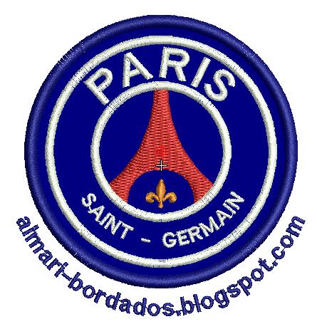 MATRIZ DE BORDADO PARIS SAINT GERMAIN